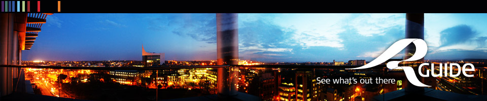 Panorama view of Reading, Berkshire